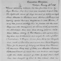 Cotton Permit for Fergus Peniston